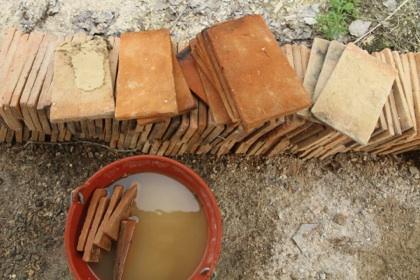 Fournil et four pain traditionnel les tapes de la for Construction four a pain